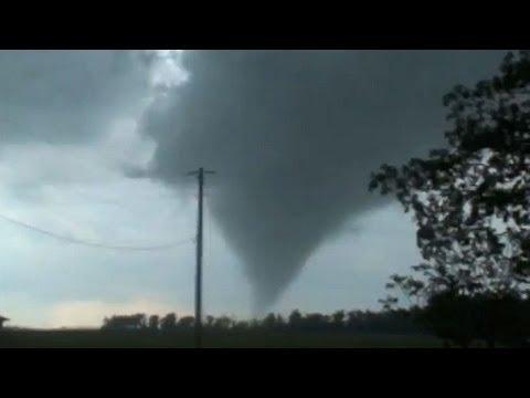 EF2 Tornado Lands At Airport