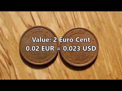 2 Euro Cent 1999 2000 Spain