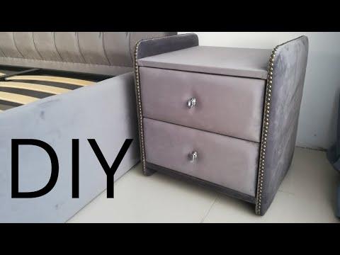 ПРИКРОВАТНАЯ тумбочка МЕБЕЛЬ СВОИМИ руками/DIY Bedside Table