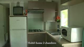 Mobil-home 28m² - Camping les 2 Vallées