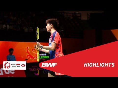 PRINCESS SIRIVANNAVARI Thailand Masters 2018 | Badminton MS - SF - Highlights | BWF 2018