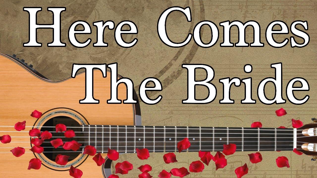 Here Comes the Bride Guitar Tabs. Bridal Chorus / Wedding March. Easiest  Beginner Intermediate