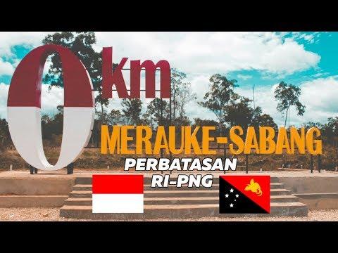 0 KM MERAUKE - SABANG