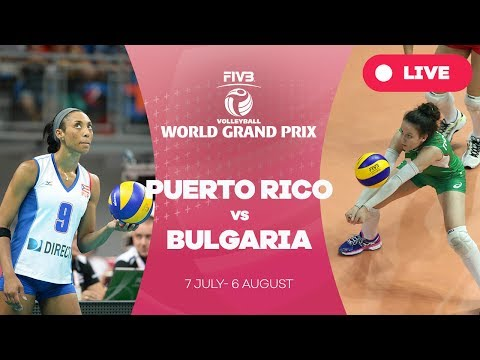 Puerto Rico v Bulgaria -  Group 2: 2017 FIVB Volleyball World Grand Prix