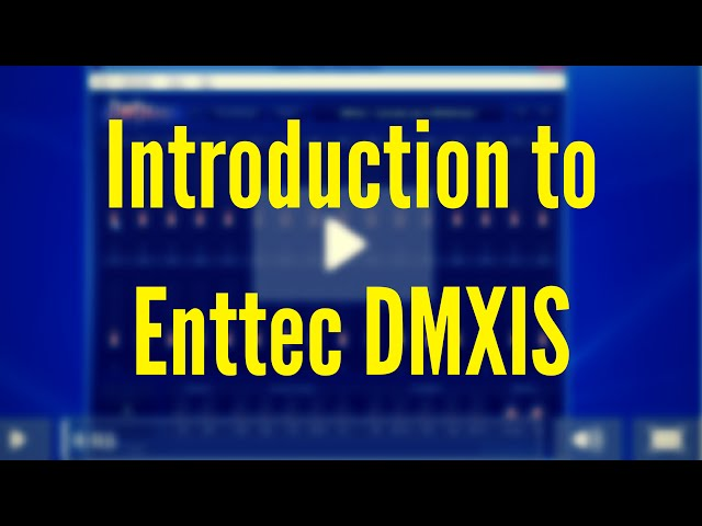 ENTTEC DMXIS Training : Introduction (Video 1)