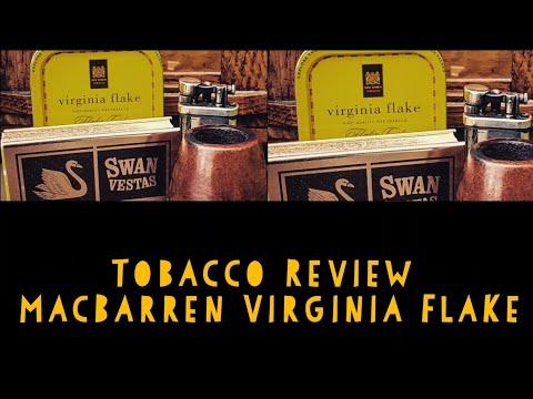 Pipe Tobacco Review - MacBarren Virginia Flake