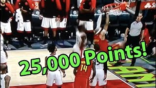 Vince Carter 25,000 Points Highlight
