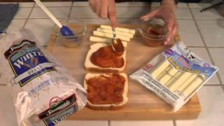 Mozzarella Sticks & Grilled Cheese Sandwiches