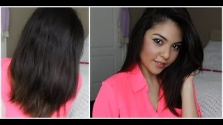 my haircare routine tips for fast hair growth