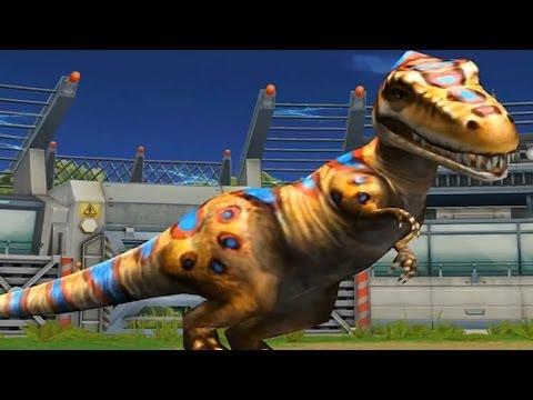 Jurassic Park Builder: Albertosaurus [BATTLE] [FINAL EVOLUTION]