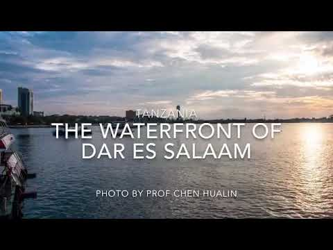 Tanzania: the Waterfront of Dar es Salaam in the Morning