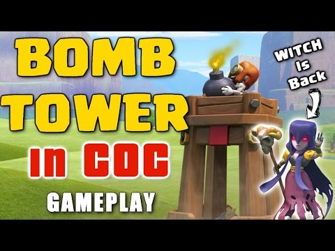 Clash Of Clans - New Defense BOMB TOWER ♦ OMG ! Awesome October 2016 Update.