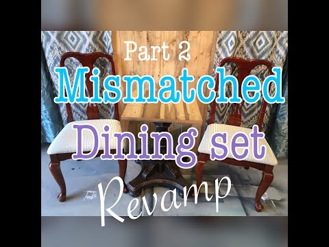 Mismatched Dining Set Part 2: The Chairs