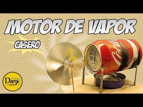 Motor de Vapor Casero