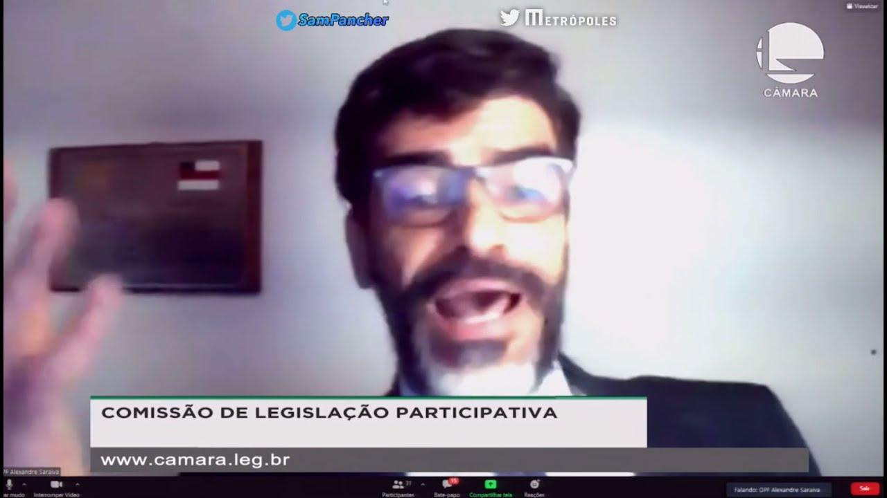Delegado Alexandre Saraiva - Cabra Homi