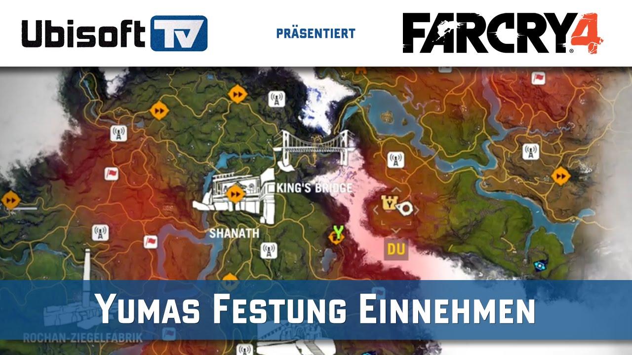 Far Cry 4 Tipp Ratu Gadhi Yumas Festung Einnehmen Ubisoft Tv
