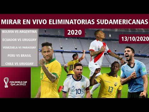Eliminatorias Sudamericanas Qatar 2022| Funciona! (Octubre)