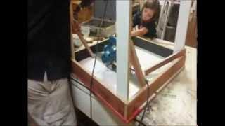 Homemade Table Saw & Setting Up Shop For $50.00!