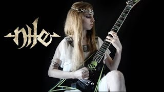 Nile - Papyrus Containing the Spell to Preserve Its Possessor - guitar cover