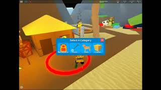 Playing Roblox( Dig For Treasue )