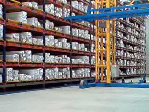 Almacen automatico aluminio youtube for Almacen de plastico para jardin