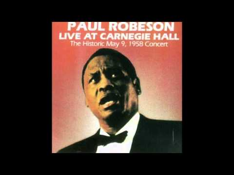 Paul Robeson - Oh No John [live]