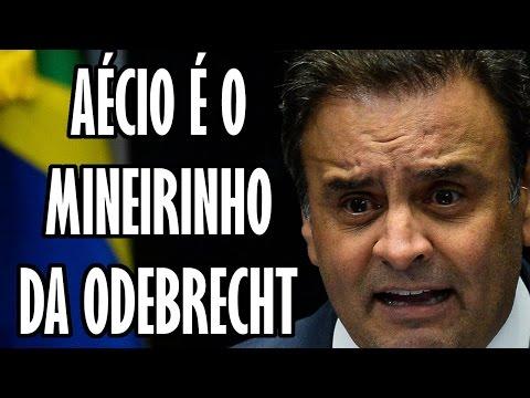 AÉCIO É O MINEIRINHO DA ODEBRECHT