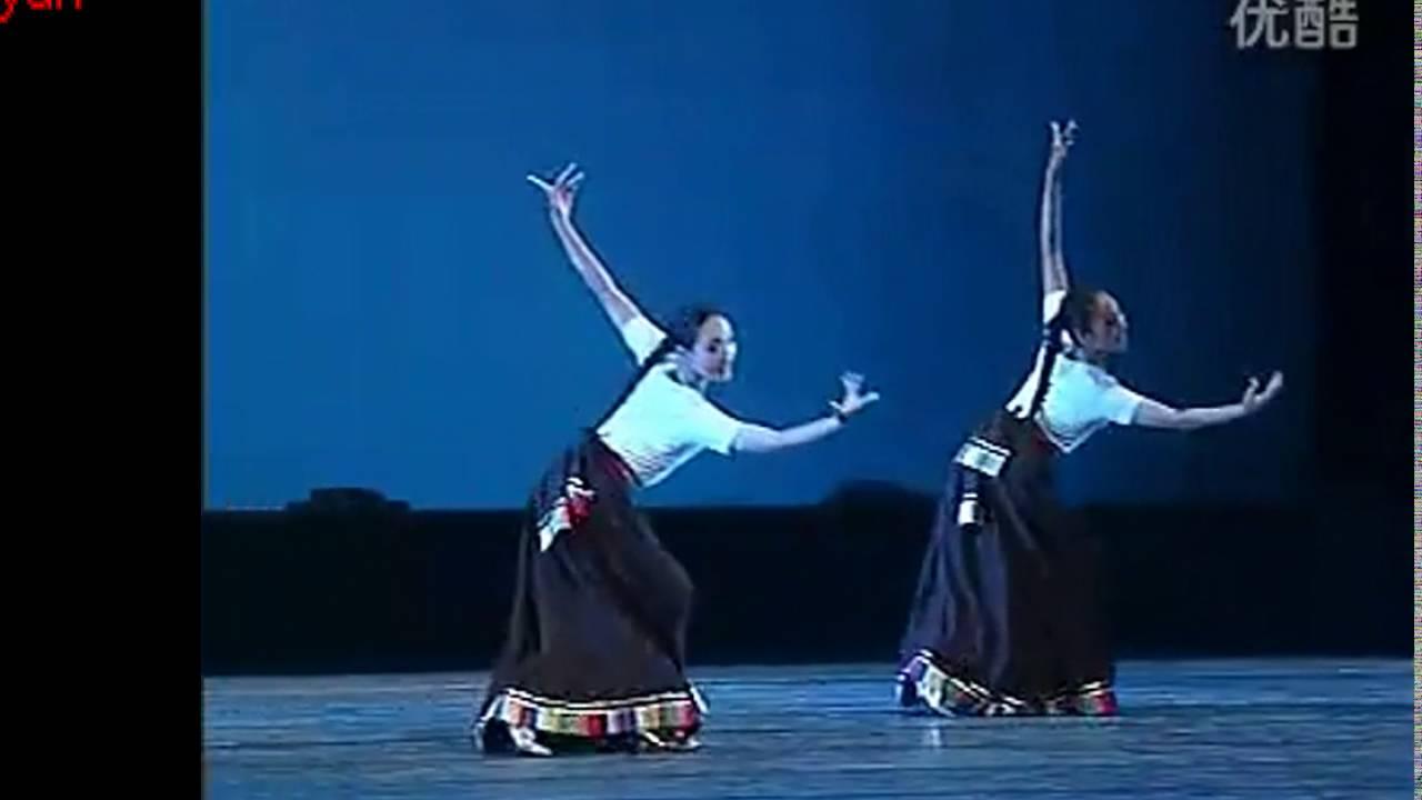 藏族舞蹈组合《牧羊姑娘》表演:中央民族大学舞蹈学院