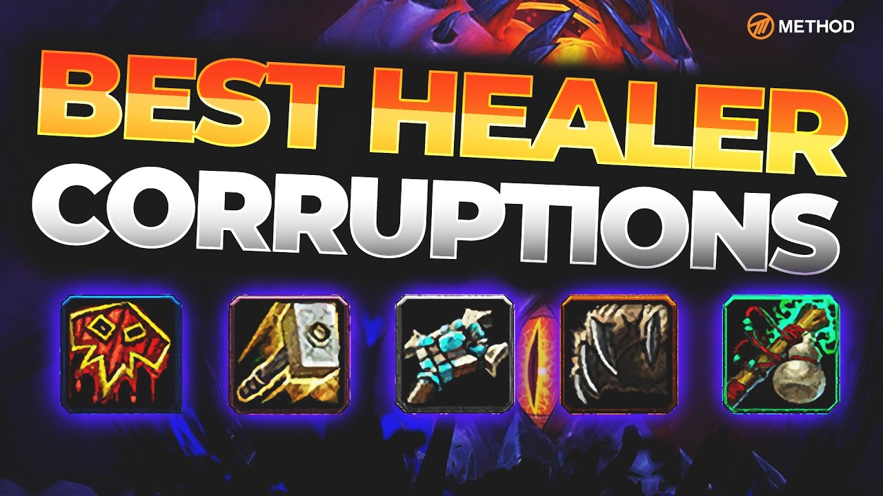 THE BEST CORRUPTION FOR HEALERS