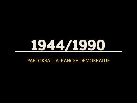 Partokratija: kancer demokratije (epizoda 1)