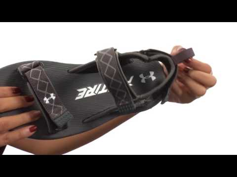 best service ffe14 f974a Under Armour UA Fat Tire Sandal SKU:8797541 - YouTube