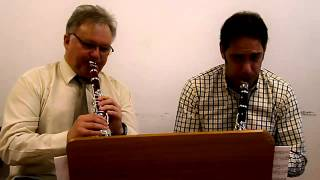 Gordon Lewin Wiev of the Blues (Clarinet duet, J. Balogh, B. Szepesi cl.)