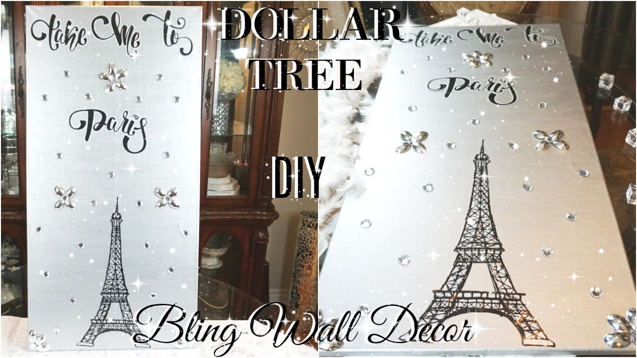 Diy Dollar Tree Bling Wall Decor Diy Dollar Store Wall Art Diy Home