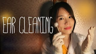 English ASMR Sleepy Ear Cleaning Role Play Whispering Soft Spoken 귀청소샵 롤플레이