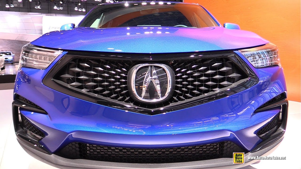 2019 Acura Rdx A Spec Exterior And Interior Walkaround 2018 New