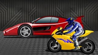 Sports Car VS Sports Bike | Race Video | Kids Racing Video(VISIT OUR OFFICIAL WEBSITE : https://www.uspstudios.co/ WATCH KIDS CHANNEL VIDEOS ON OUR WEBSITE TOO ..., 2016-01-29T09:41:30.000Z)