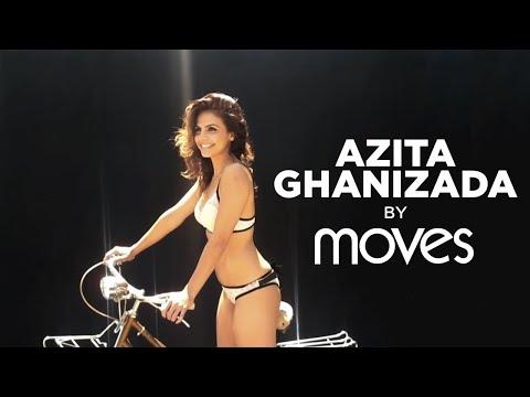 Azita Ghanizada Photo shoot for New York Moves Magazine