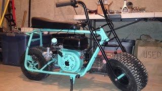 "Mini Bike Build/transformation - ""the Apple"""