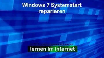 Windows 7 Startprobleme beheben mit dem Notfallsystem