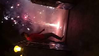 fire crackers  flower pot vs Jati Wala ,Patas,