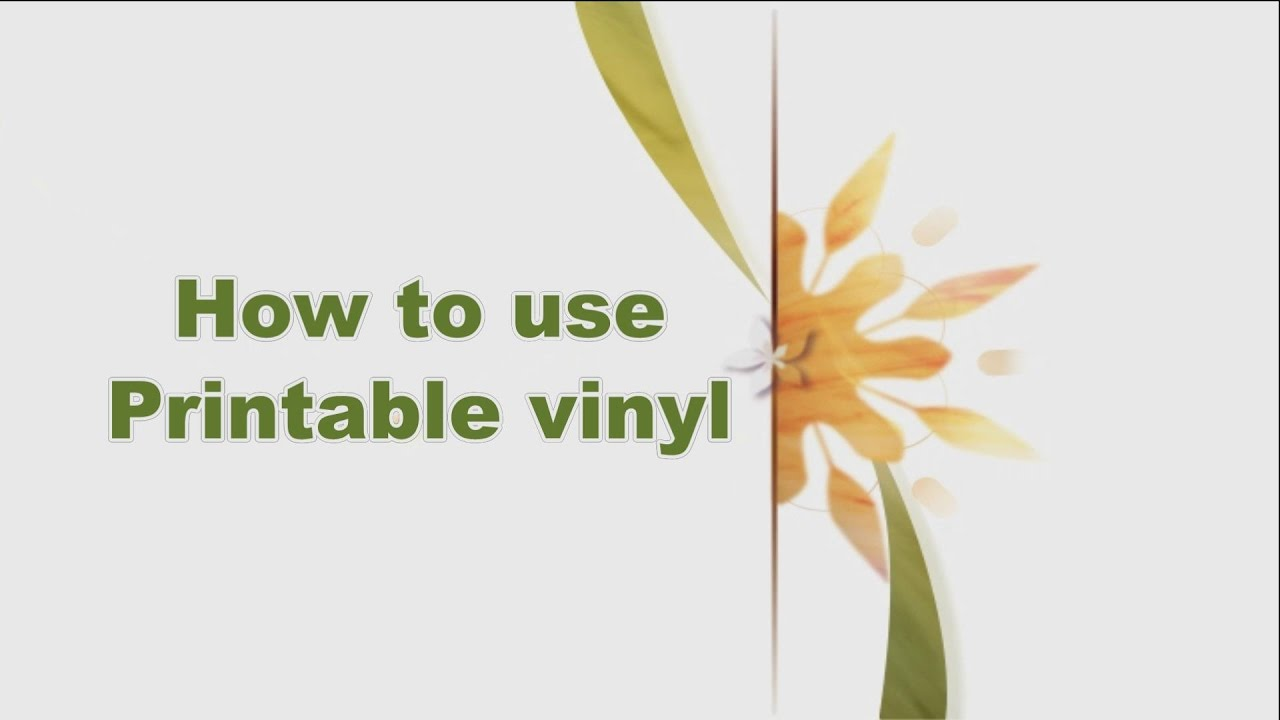 photograph regarding How to Use Printable Vinyl called 01 How in the direction of employ printable vinyl