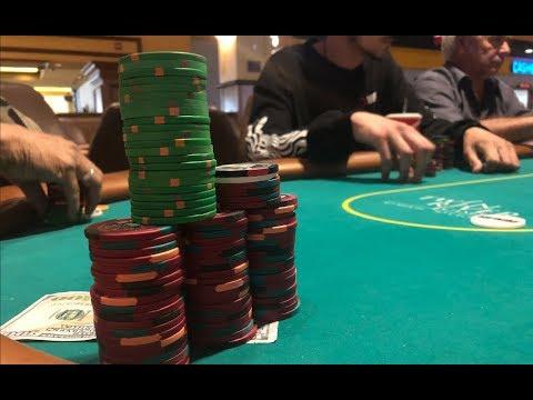 WINNING MY BIGGEST POT In 2/5 NLH - Twin River Casino
