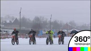 В Солнечногорском районе проходят зимние мотогонки
