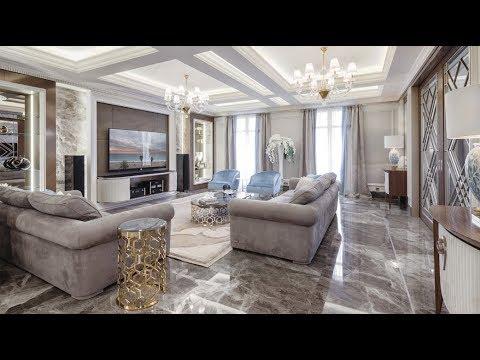Elegant luxury. Interior of residence in Nice, France