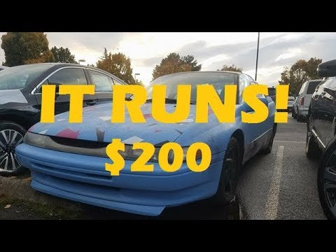 We Bought the Cheapest Subaru SVX in the Country