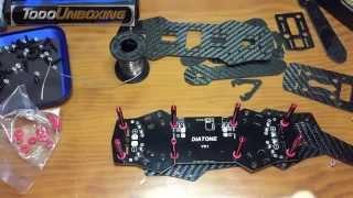 Construir un Drone de carreras quadcopter. Montaje paso a paso