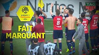 Lille renversant, marque 3 fois en 7 minutes et s'impose à Nantes! 30ème journée / 2018-19