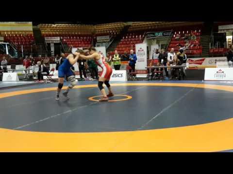 2016 Canadian Senior Championships: 58 kg Final Linda Morais vs. Krystin Paquette