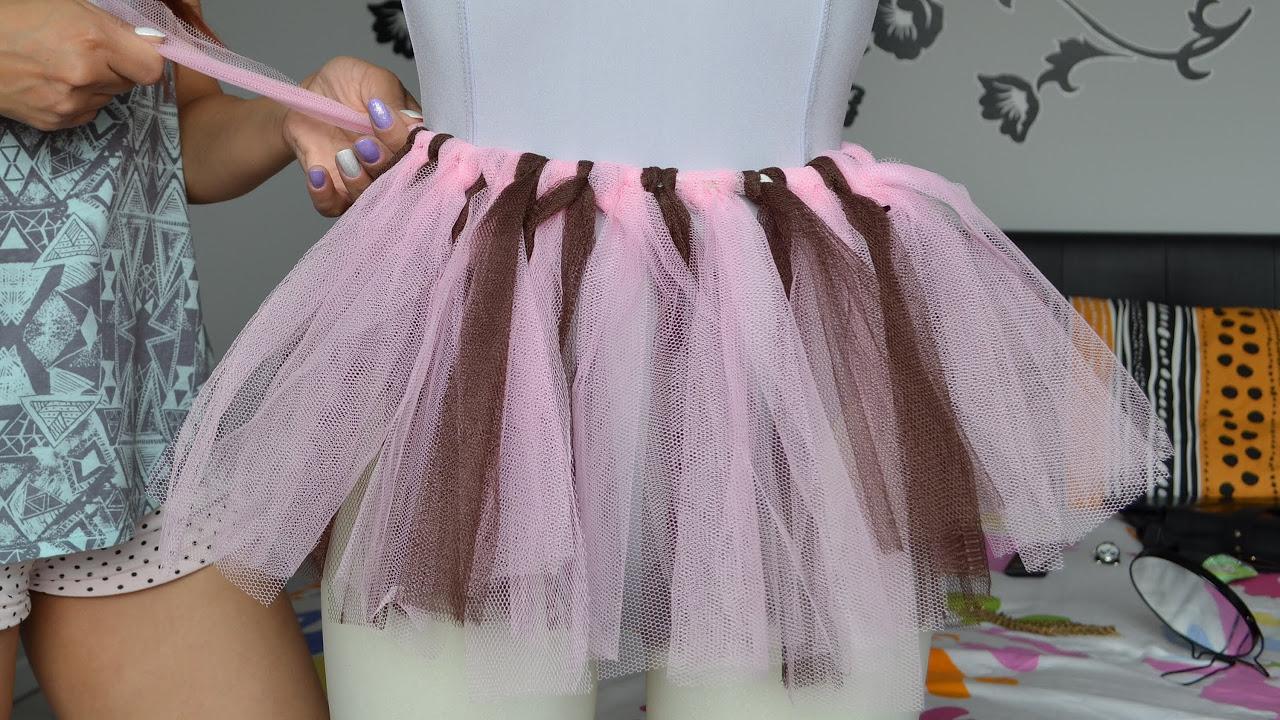 8fa71745e1 Como fazer Tutu Saia de Bailarina - YouTube
