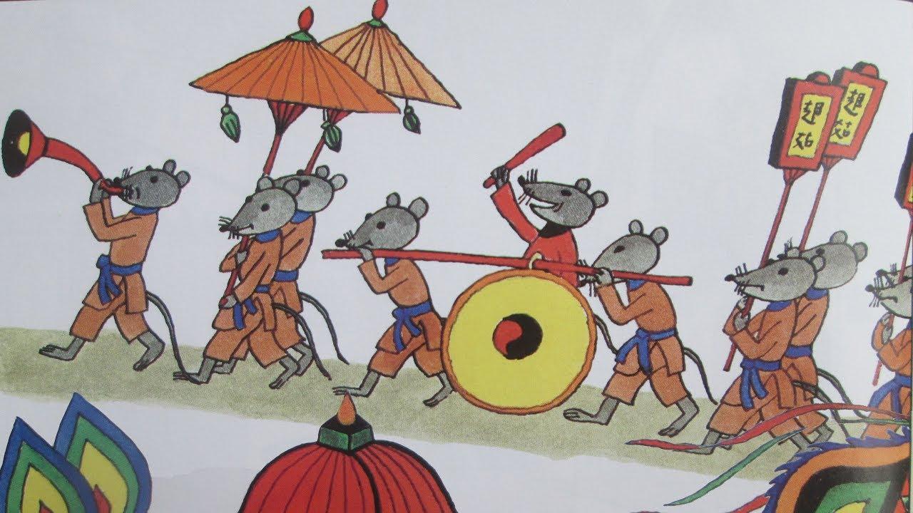 Đám cưới chuột – Truyện dân gian VN [Yêu trẻ thơ]